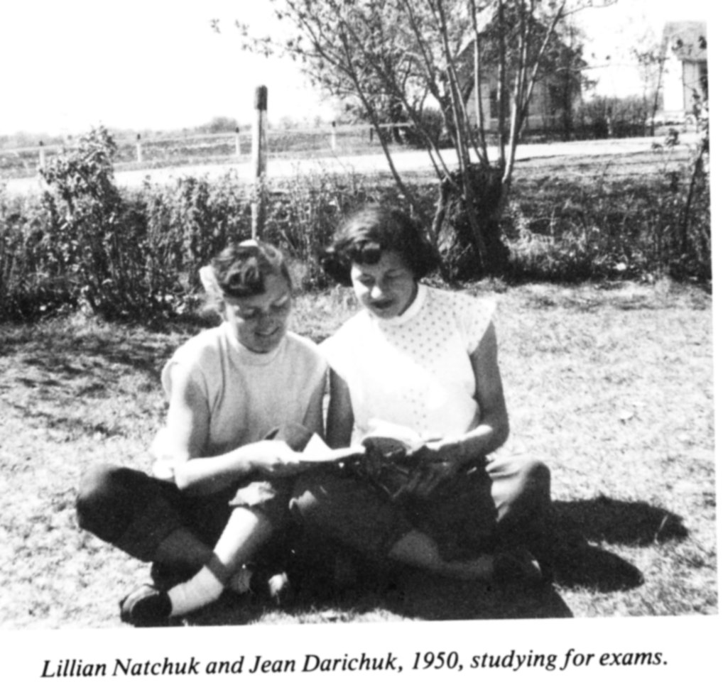Lillian Natchuk & Jean Darichuk 1950