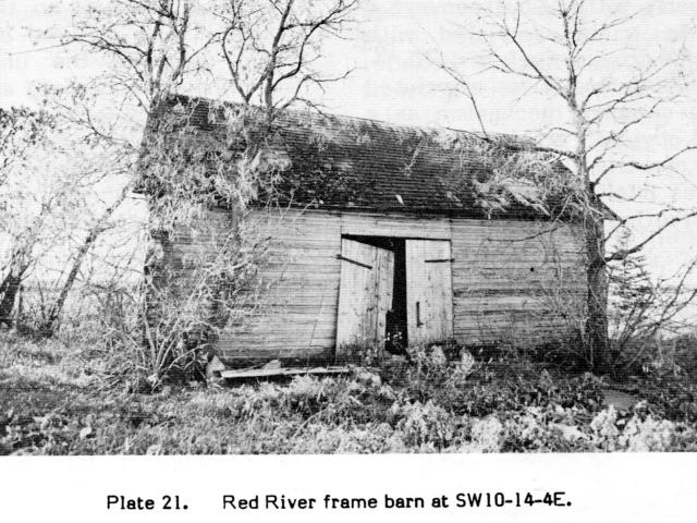 Red River Frame barn
