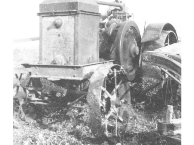 Rumley tractor