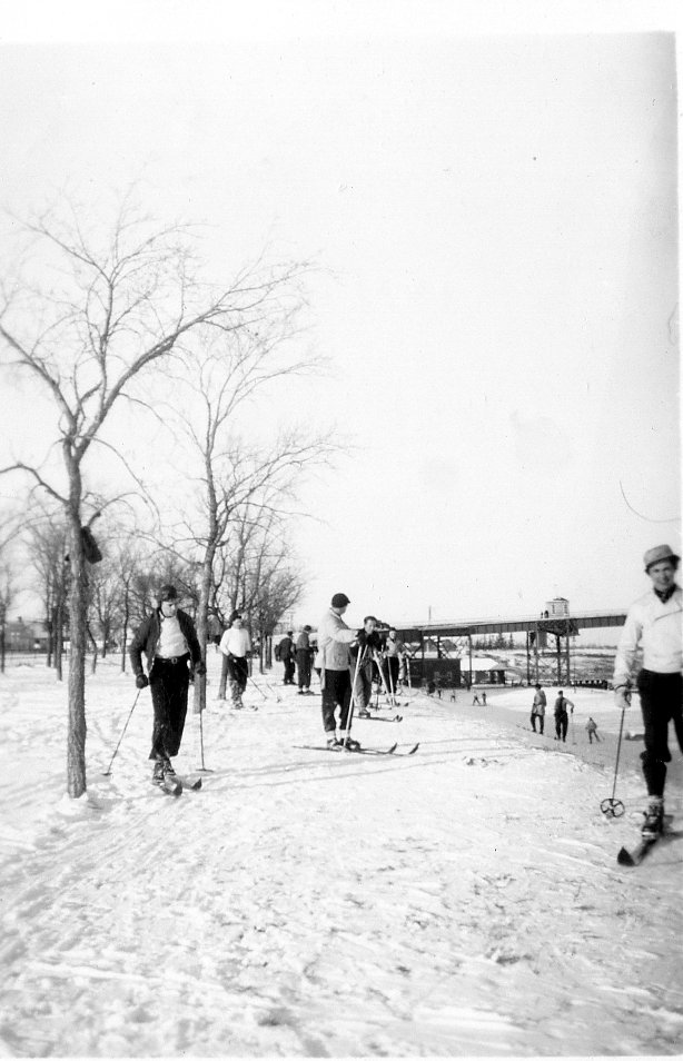Skiing at Lockport 1939