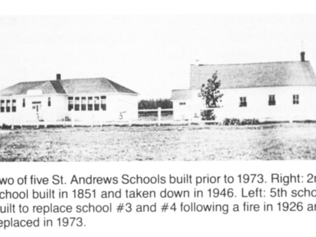 St Andrews Old School 1851 & 1926