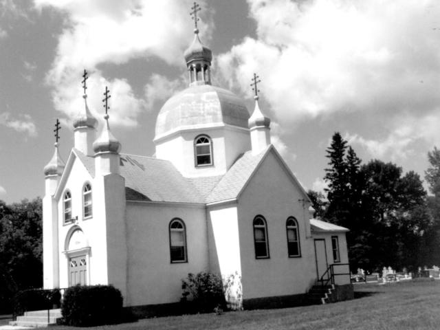 St Nicholas Greek Orthodox Ukrainian Church 5635 Henderson hwy. 1st church 1904, 2nd church 1945