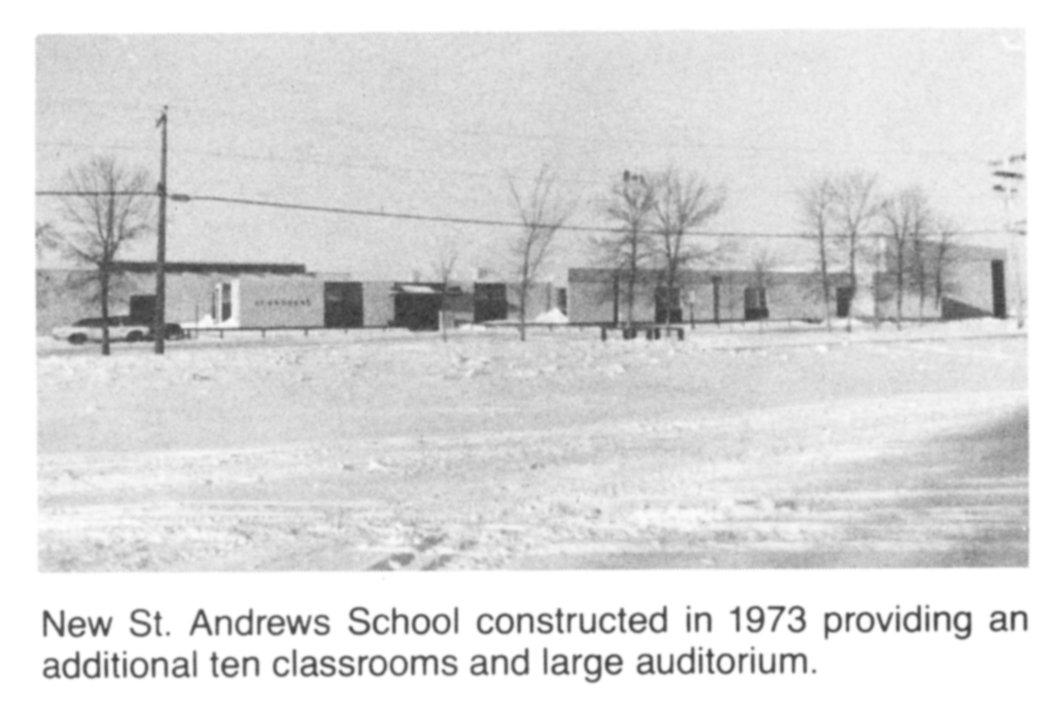 St Andrews New School 1973