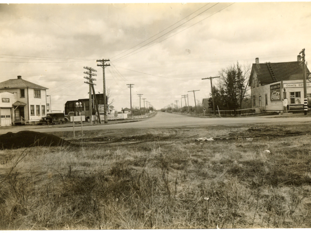 Stevens Ave, Lockport 1945