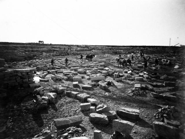 Stone quarry East Selkirk