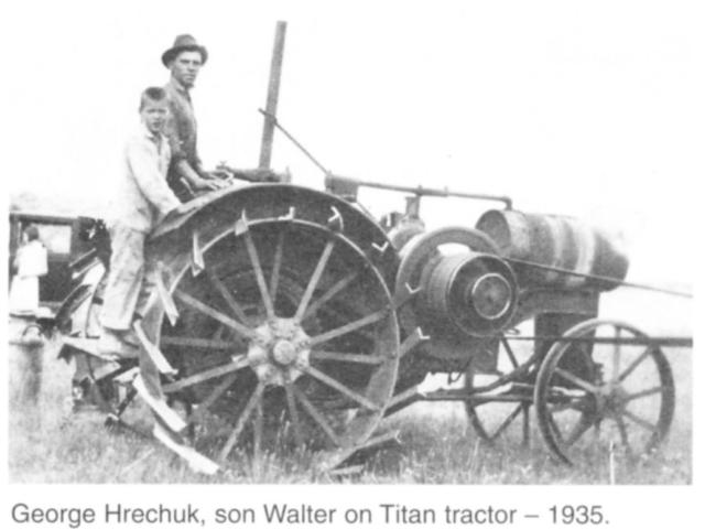Titan tractor 1935