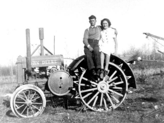 William & Mildred Fewchuk 1937