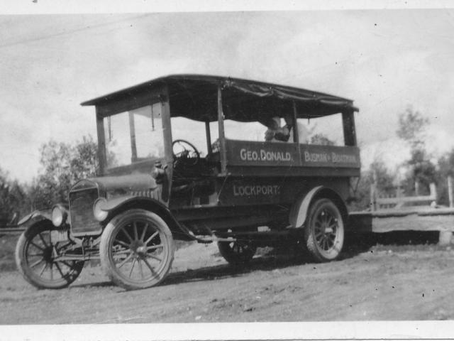 George Donald's Bus