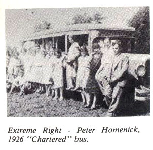 Homenick Chartered Bus
