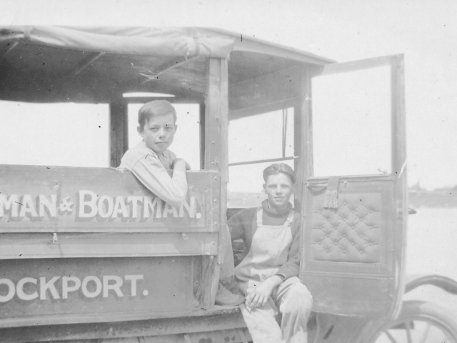Passengers on George Donald's Bus