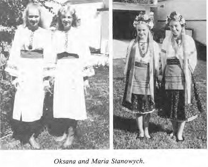 Oksana and Maria Stanowych