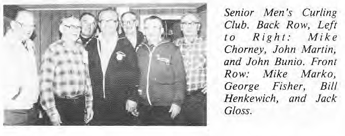 East Selkirk Senior Mens Curling Club