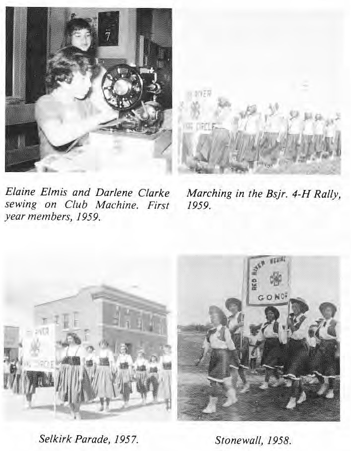 4-H Gonor photos 1958 and 1959