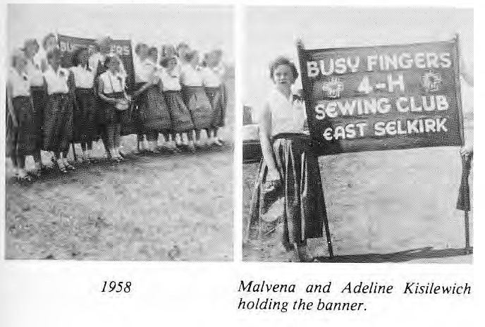 Busy Fingers Sewing Club 1958