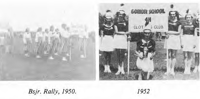 4-H Gonor Photos 1950 and 1952