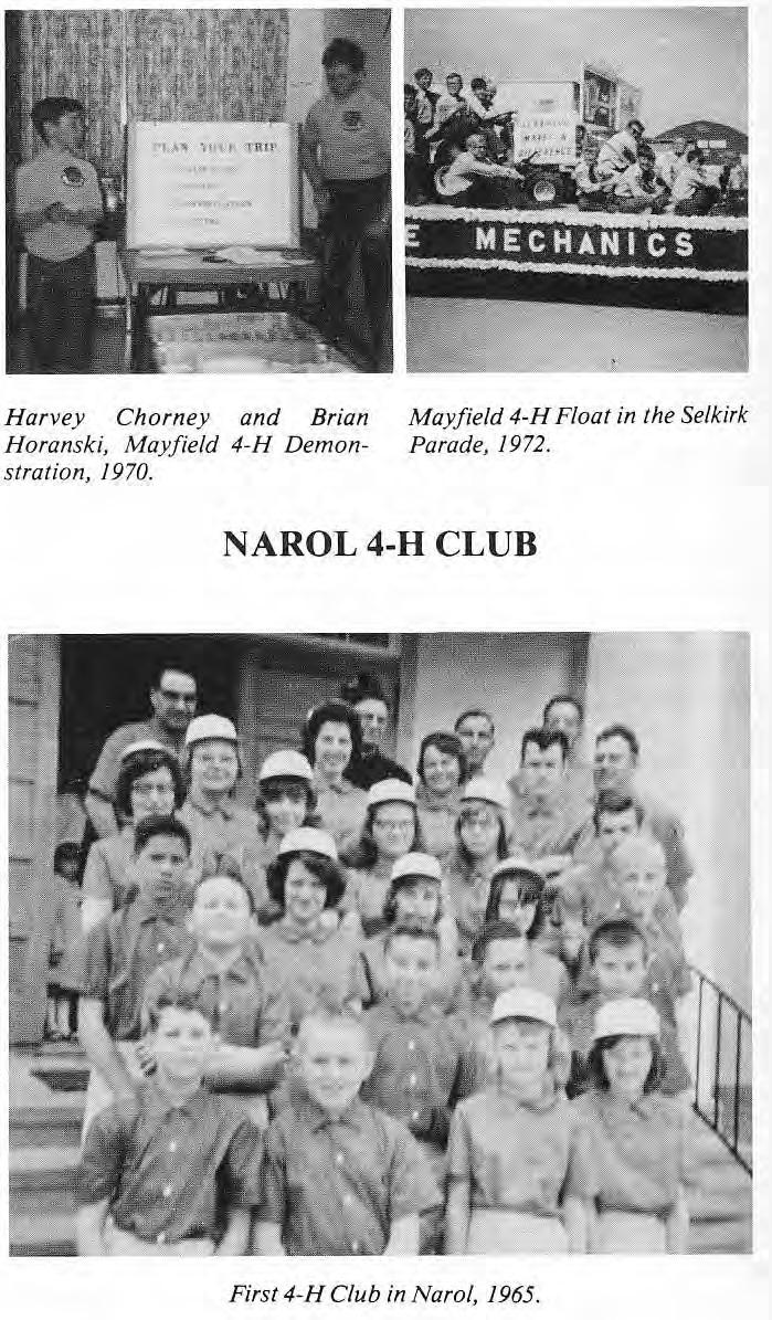 4-H Club Narol 1965