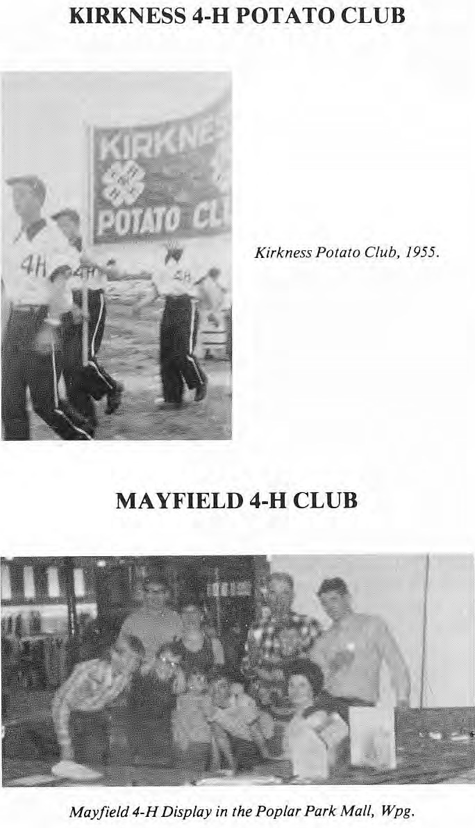 4-H Potato Club and 4-H Mayfield