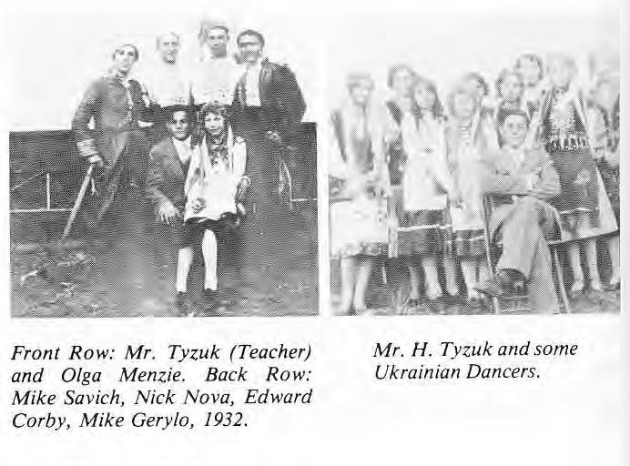 Ukrainian Dance Class 1932