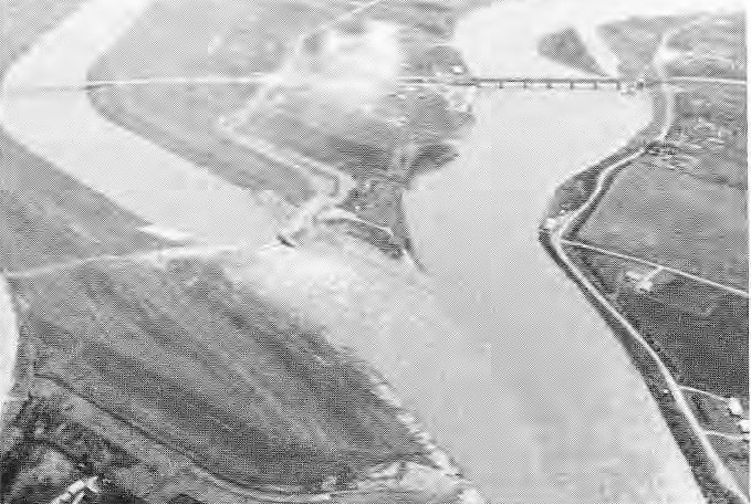 Floodway Construction Aerial Photo