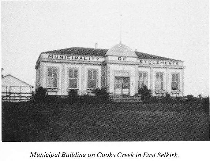 Municipal Building on Cooks Creek in East Selkirk