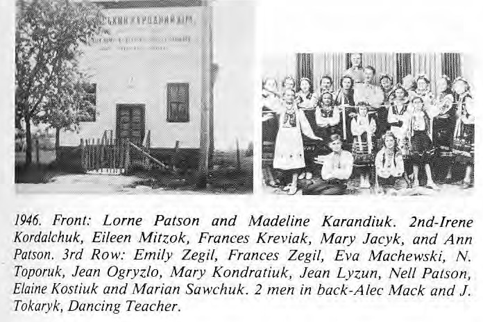 East Selkirk Hall and Dance Class 1946