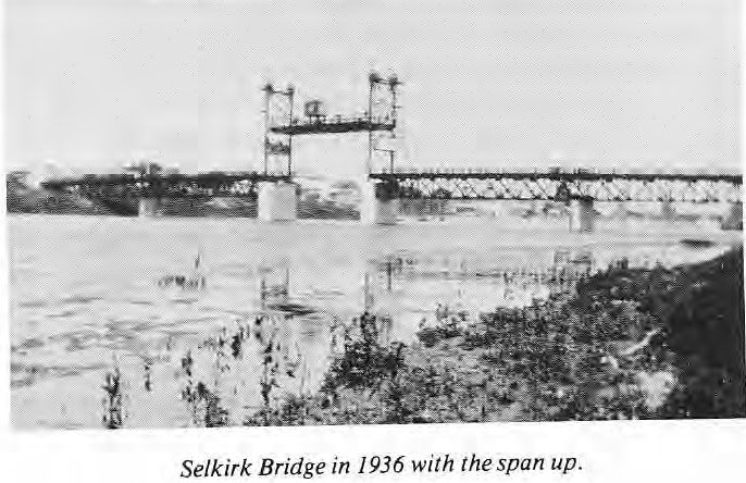 Selkirk Bridge 1936