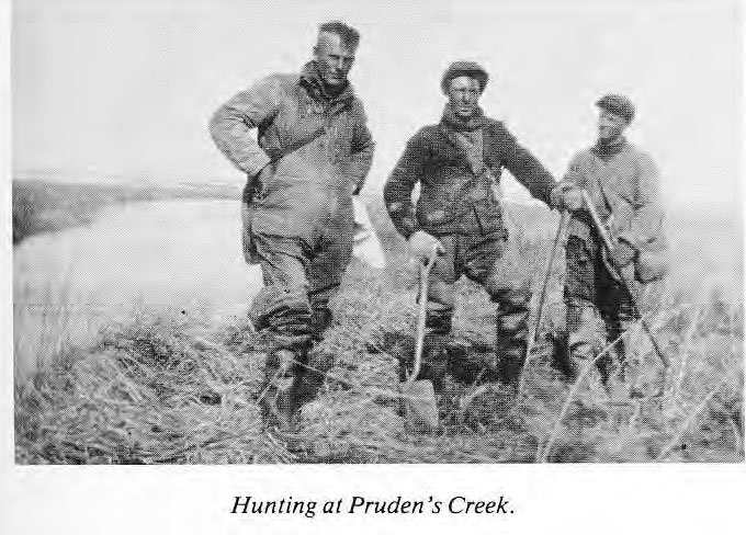 Hunting at Pruden's Creek