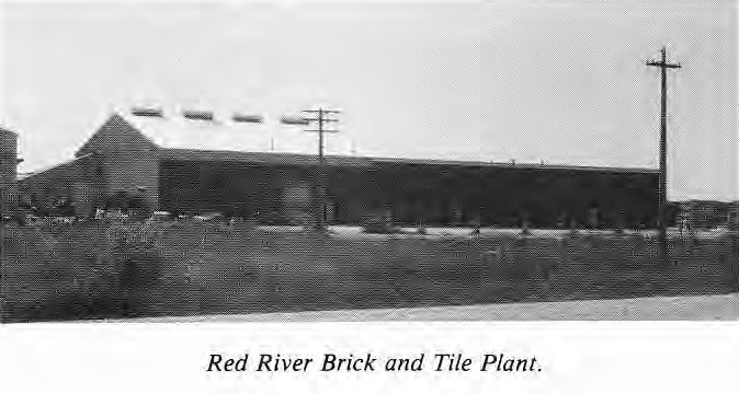 Red River Brick and Tile Plant
