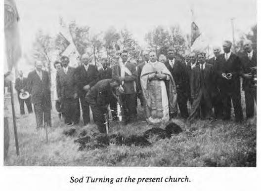 Sod Turning at Present Church