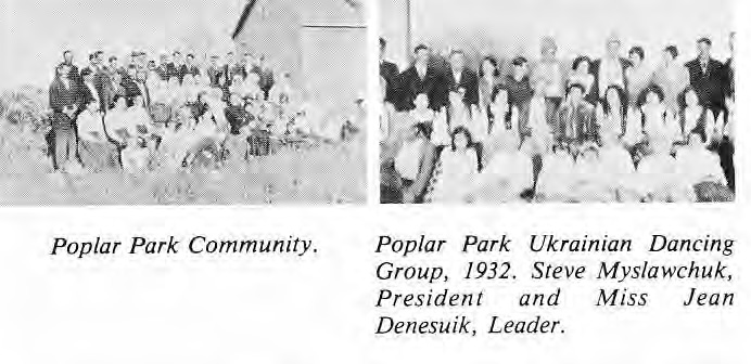 Poplar Park Community and Ukrainian Dancing Club