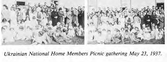 Ukrainian National Home Members Picnic 1937
