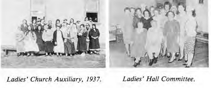 Ukrainian Home Ladies Auxillary and Ladies' Hall Committee1937