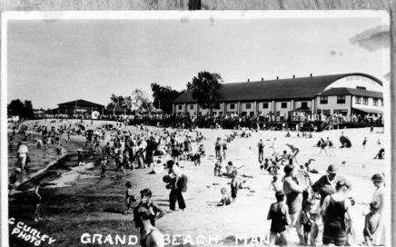 Grand Beach Postcard