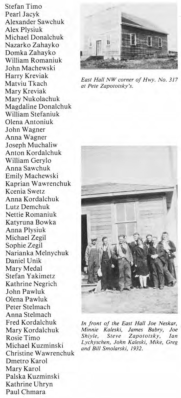 Ukrainian Benevolent Society Members