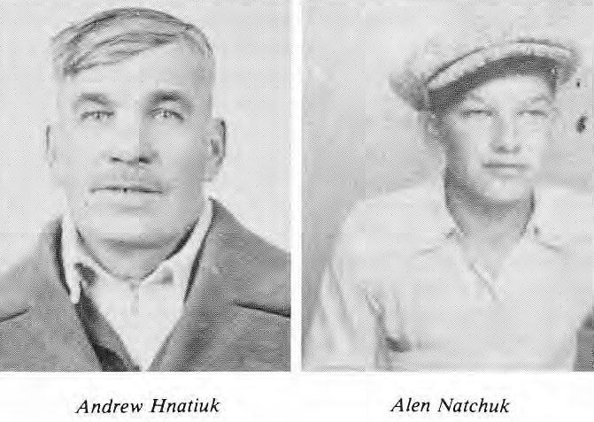 Andrew Hnatiuk and Alen Natchuk
