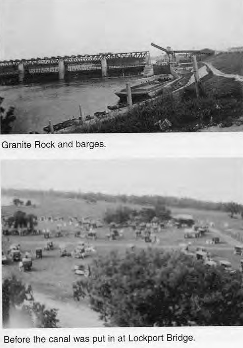 Granite Rock Barge and Before the Canal