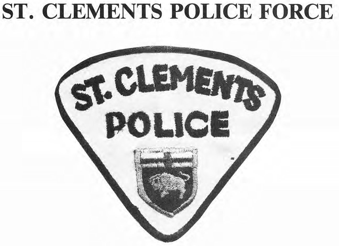 St. Clements Police Crest