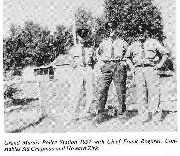 Grand Marais Police Station 1957