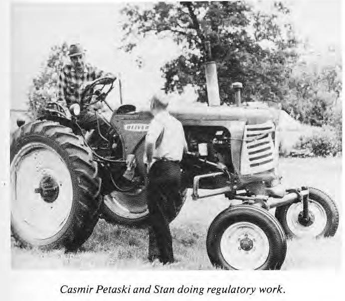 Casmir Petaski and Stan doing regulatory work