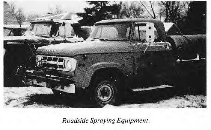 Roadside Spraying Equipment