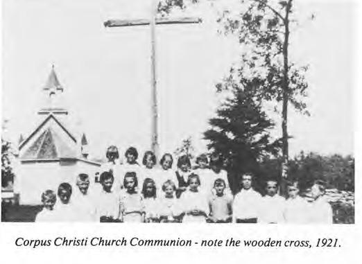 Corpus Christi: Communion 1921