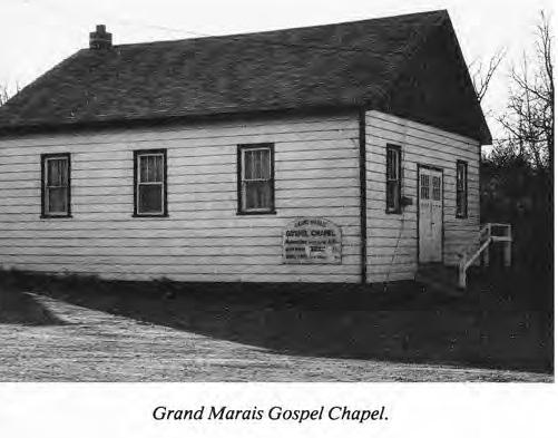 Grand Marais Gospel Chapel