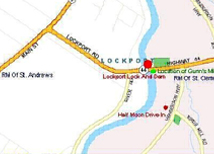 Map of Lockport