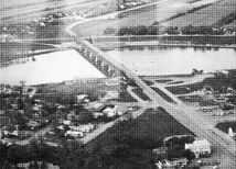 Lockport Bridge and Dam
