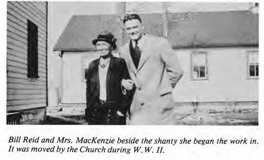 Bill Reid and Mrs. MacKenzie