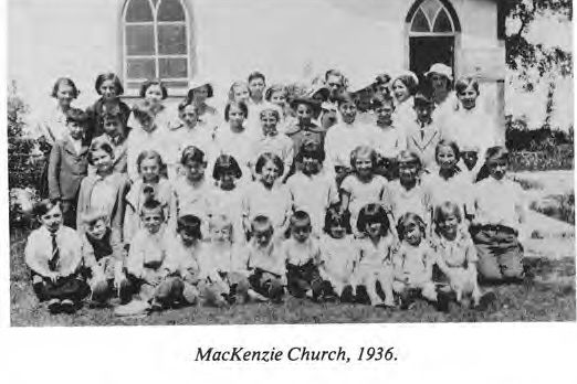 McKenzie Church Choir 1936