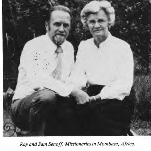 Kay and Sam Senoff