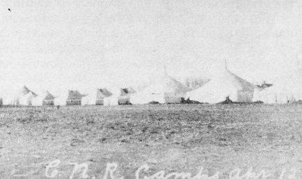 CNR Campsite, April 12, 1911.