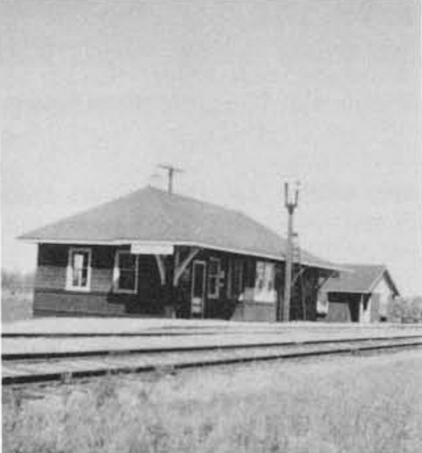 East Selkirk CPR Station.