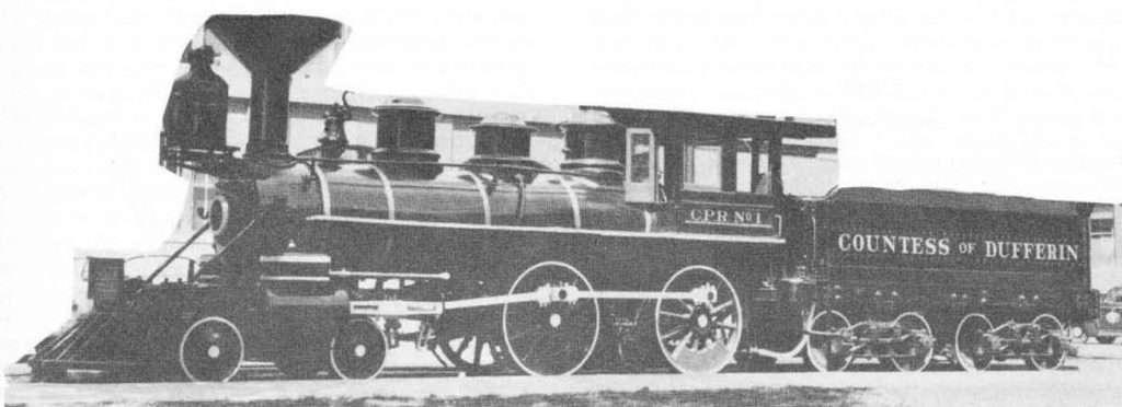 The famous Canadian Pacific Railway Locomotive No. I Countess of Dufferin